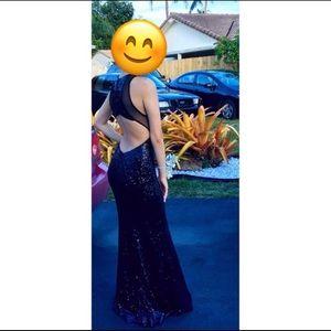 Prom dress/ 15's dress/ sweet 16 dress/black dress